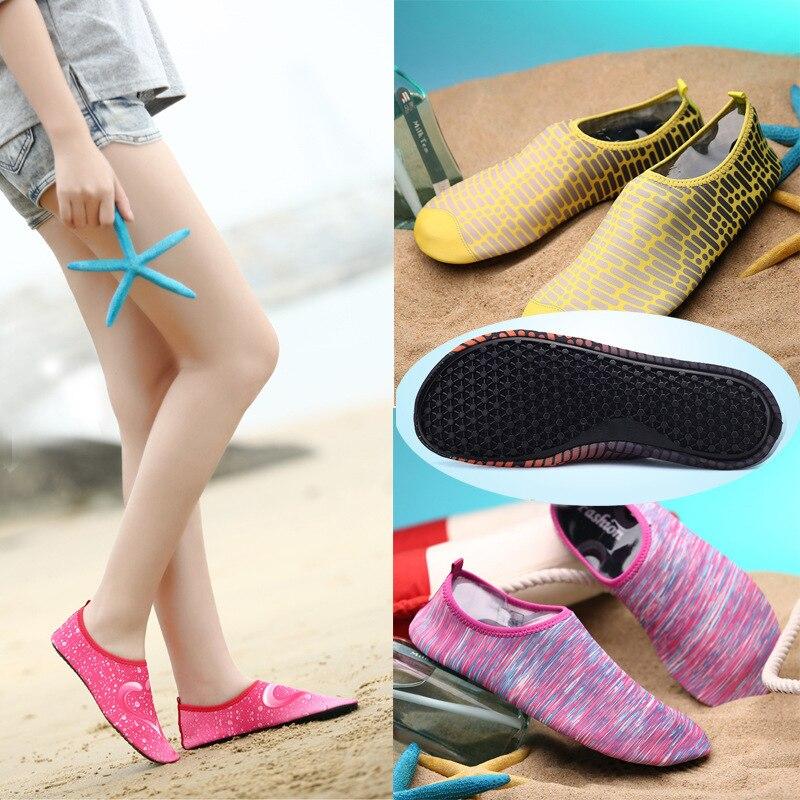 Beach Creek Amphibious Shoes Soft Ultralight Wading Travel Outdoor Sea Upstream Sneakers Aqua Women Men Gym Yoga Fitness Sports
