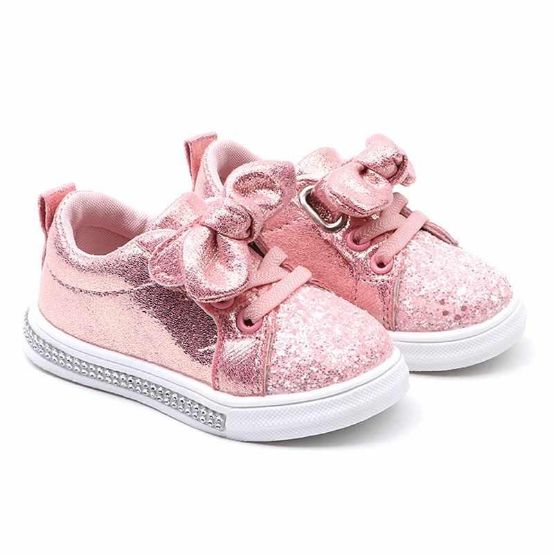 Mới Thời Trang Trẻ Em Chống Trượt Nhà Mềm Giày Bé Gái Bé Trai Tập Đi Giày Thường Dễ Thương Chạy Bộ Mùa Xuân Trẻ Em Giày Thể Thao Sneakers