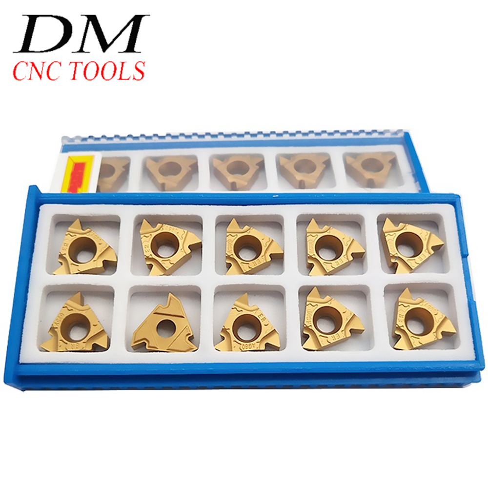 "10pcs MMT16ER 3//8 AG60 10pcs 16IR 3//8/"" AG60 Threaded blade 16ERAG60+16IRAG60"