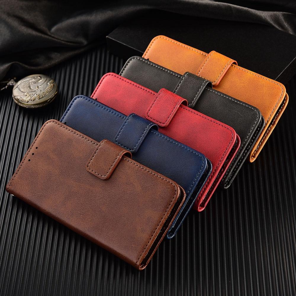 Galaxy M30 Cover Plain Phone Bag For Samsung Galaxy M10 M20 M30 M40 S3 S4 S8 S9 S10 Plus 5G S10e Coque Leather Wallet Case
