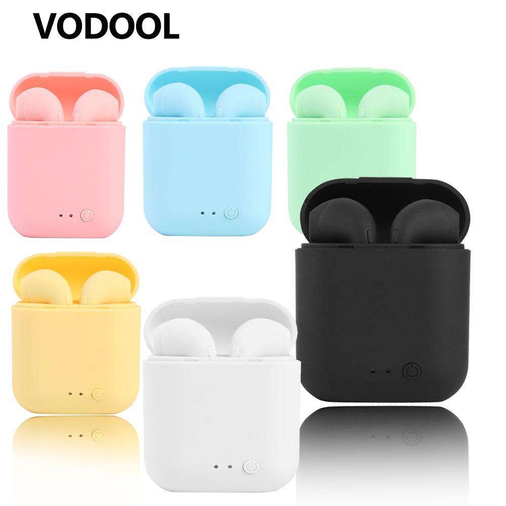 I7mini2 TWS Drahtlose Kopfhörer Bluetooth 5,0 Kopfhörer Sport Earbuds Headset Mit Mic Lade Box Für iPhone Xiaomi PK i9s i7s