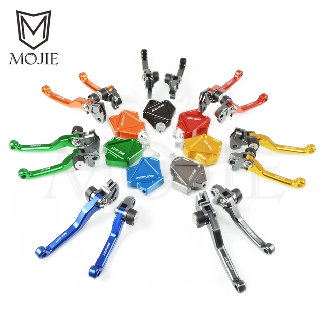 For YAMAHA YZ450F YZ 450F 450 YZ450 F 2001-2019 Motocross CNC Pivot Brake Stunt Clutch Lever Easy Pull Cable System Motorcycle