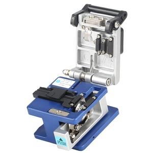 Image 5 - FC 6S Кливер для холодного контакта с 12 лезвиями, металлический материал, FTTH волоконный кабель, резак, нож, инструмент