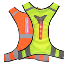 Motorcycle Reflective Jacket Safety Motorcycle Vest Safety Sport LED Jacket Chaleco Reflectante Moto Riding Chaleco Gilet Moto giubbotto moto chaleco motorcycle breathable high visibility jackets chaleco moto reflectante summer spring motosiklet yelek 3xl