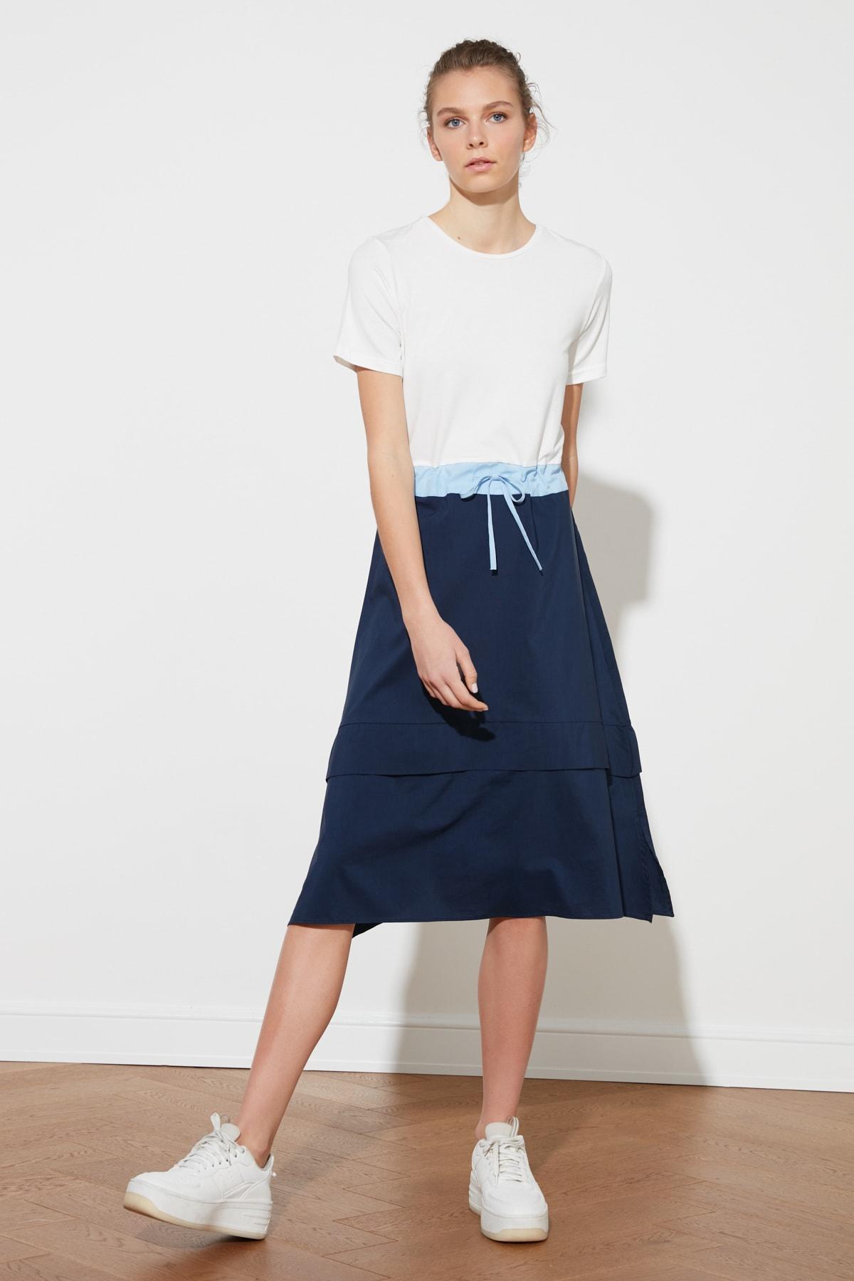Trendyol Lacing Detail Dress TWOSS20EL1838