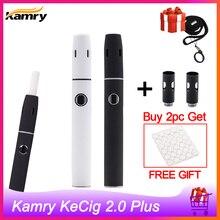 Kamry KeCig 2,0 плюс нагревательная палочка Vape комплект тепла без ожога испаритель для нагрева табака icos ручка Vape VS GXG I2 GXG I1S