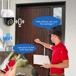 Image 3 - Zjuxin IP מצלמה WiFi 2MP 1080P אלחוטי PTZ מהירות כיפת CCTV IR Onvif מצלמה חיצוני אבטחת מעקב ipCam Camara חיצוני
