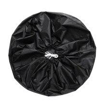 210D Оксфорд ткань Универсальный внедорожник автомобильная шина Чехол запасного колеса Сумка запасной безопасного хранения тканым чехлом п...