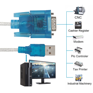 Image 5 - USBเพื่ออัพเกรดRs232 Serial Cableหญิงพอร์ตUSBอะแดปเตอร์USB 2.0 ถึงRS232 หญิงสายUSB COM rs232 Usb Converter