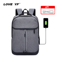 2019 new fashion backpack boys girls students backpack USB smart backpack 15.6 inch laptop bag Oxford cloth backpack mochila