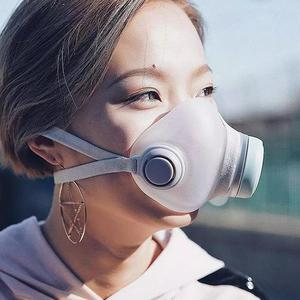 Image 3 - Xiaomi Woobi Viso Maschera di Filtro HEPA Pulito Respirazione Sicuro Respiratori del Blocco di Polvere PM2.5 Haze Anti Inquinamento Maschera di Aria Per Bambini per gli adulti