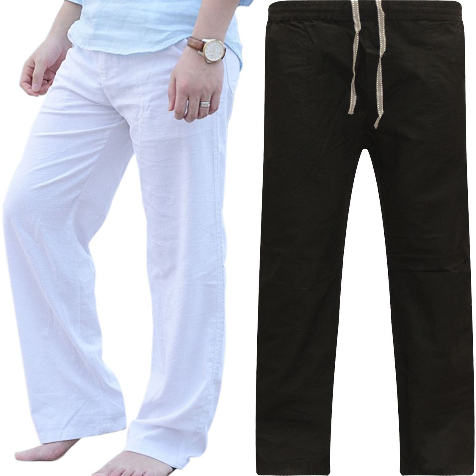 Manufacturers Direct Selling EBay Foreign Trade Hot Selling Fashion Large Size Breathable Fitness Casual Pants Men Straight-Cut