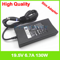 19 5 V 6.7A 130W ноутбук адаптер переменного тока зарядное устройство для Dell XPS M1210 M1710 GEN 2 9Y819 310-4180 K5294 d232h da130pe1-00 fa130pe1-0