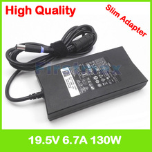 19.5V 6.7A 130W laptop Adaptador ac Carregador de Energia para Dell XPS GEN M1210 M1710 2 9Y819 310 4180 d232h K5294 fa130pe1 0 da130pe1 00