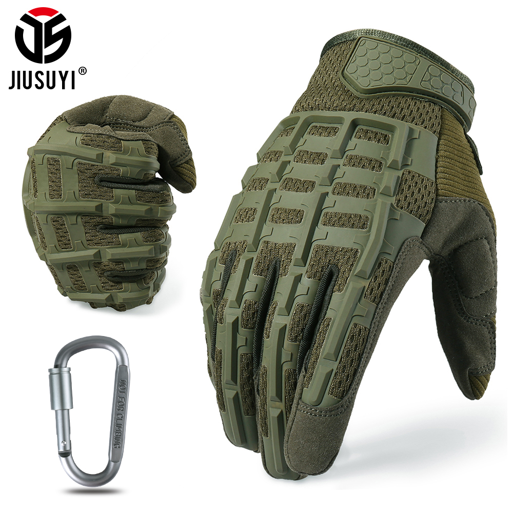Tactical Army Full Finger Gloves Military Paintball Airsoft Shooting Combat Protective Fingerless Glove Anti-skid Men Women New