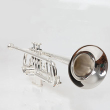 new Trumpet Model 43 Silver Plated LT180S-43 Trumpete  Give me two nozzles