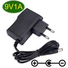 1PCS 9V 850mA -1A AC Adaptor Adapter Power Supply Wall Charger For CASIO LK300tv LK-100 LK-200 LK-210 AD-5 AD-5MLE EU Plug