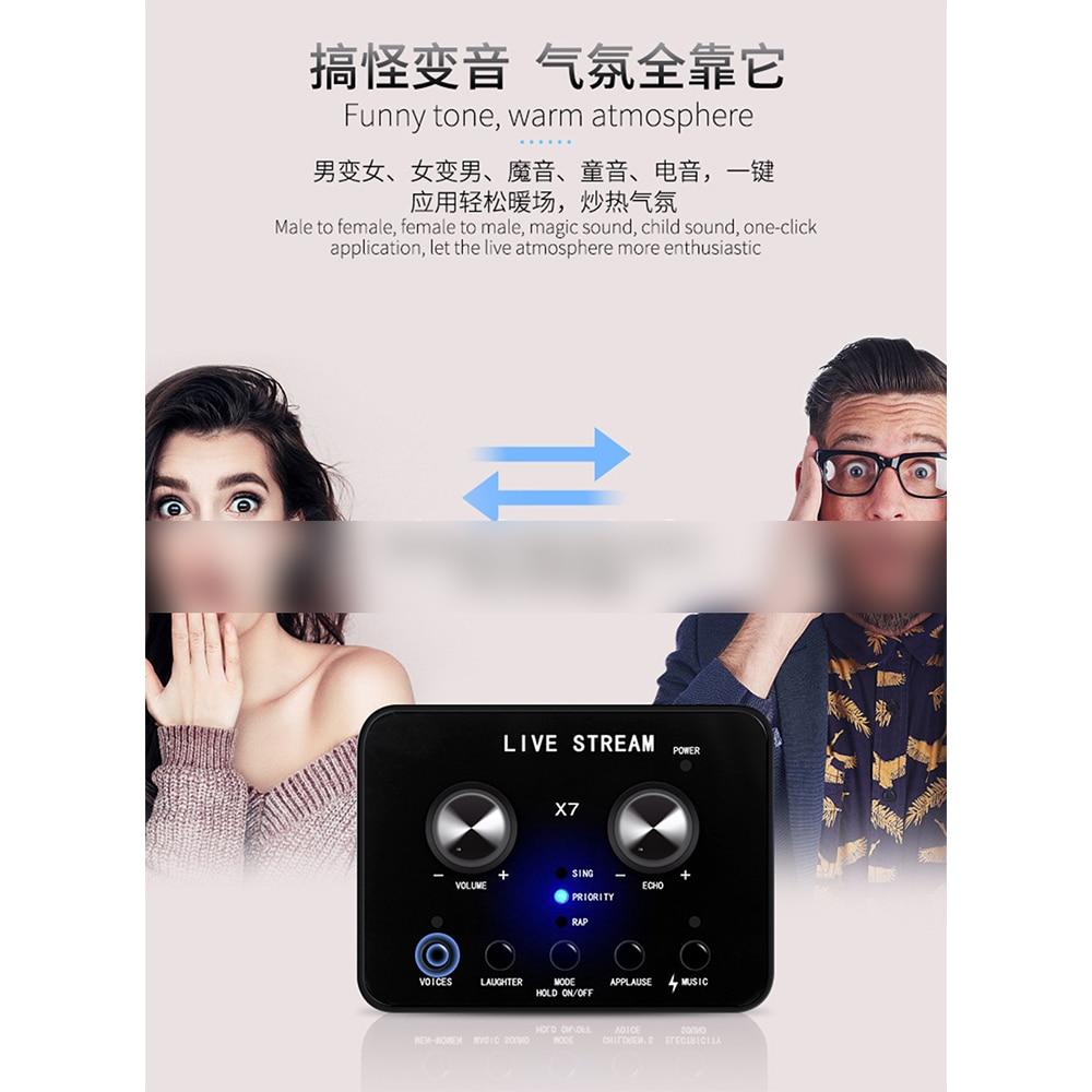 Кондензаторен микрофон със статив USB - Преносимо аудио и видео - Снимка 6