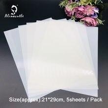 Folhas em branco do modelo do material do animal de estimação do estêncil do filme do estêncil para estênceis diy usado para cortar estênceis na máquina de corte