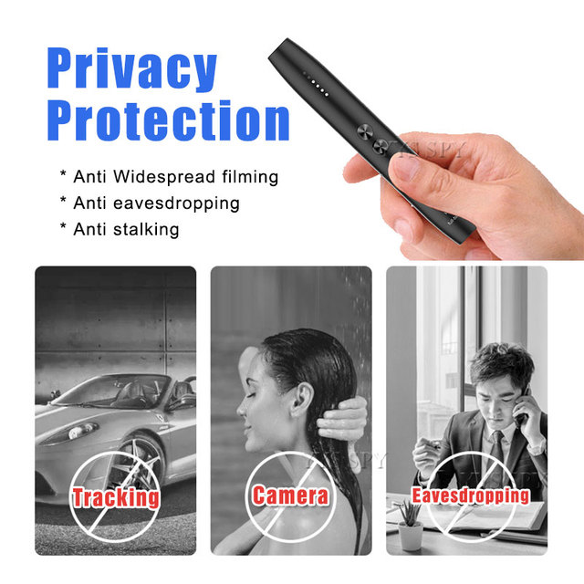 Limited At A Low Price-Anti Hidden Camera Detector Pen RF Signal Eavesdropping Cam Spy Gadgets Wireless GSM GPS Audio Bug Finder 5