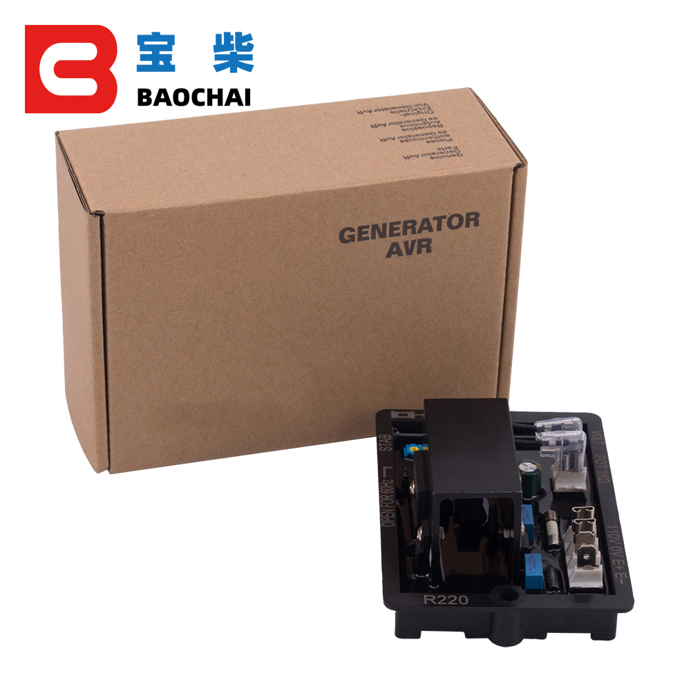 Image 2 - NEW R220 AVR Automatic Voltage Controller for Diesel Generator Alternator Genset Accessories Parts Cheaper Price High Quality-in Generator Parts & Accessories from Home Improvement