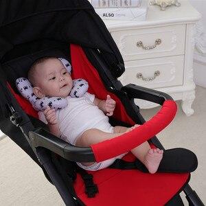 Image 4 - תינוק כרית יילוד עגלת תינוקות שינה כרית ילדים תינוק ראש תמיכה עבור תינוקות Dropshipping תינוק עגלת צוואר כרית