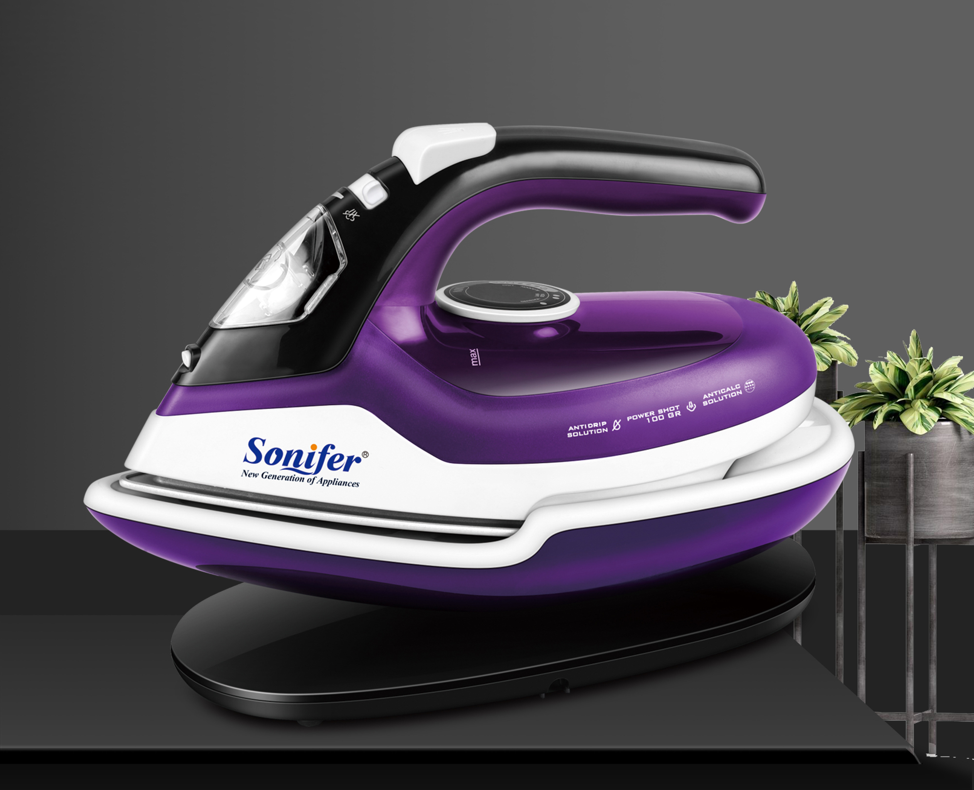 Steam Irons For Clothes Generator
