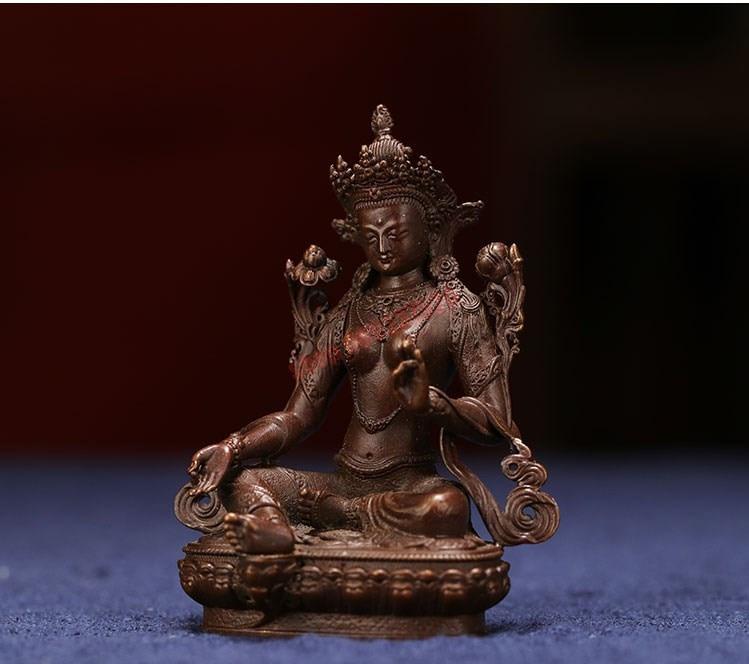 buda de bodhisattva, budismo tântrico tibetano, decoração