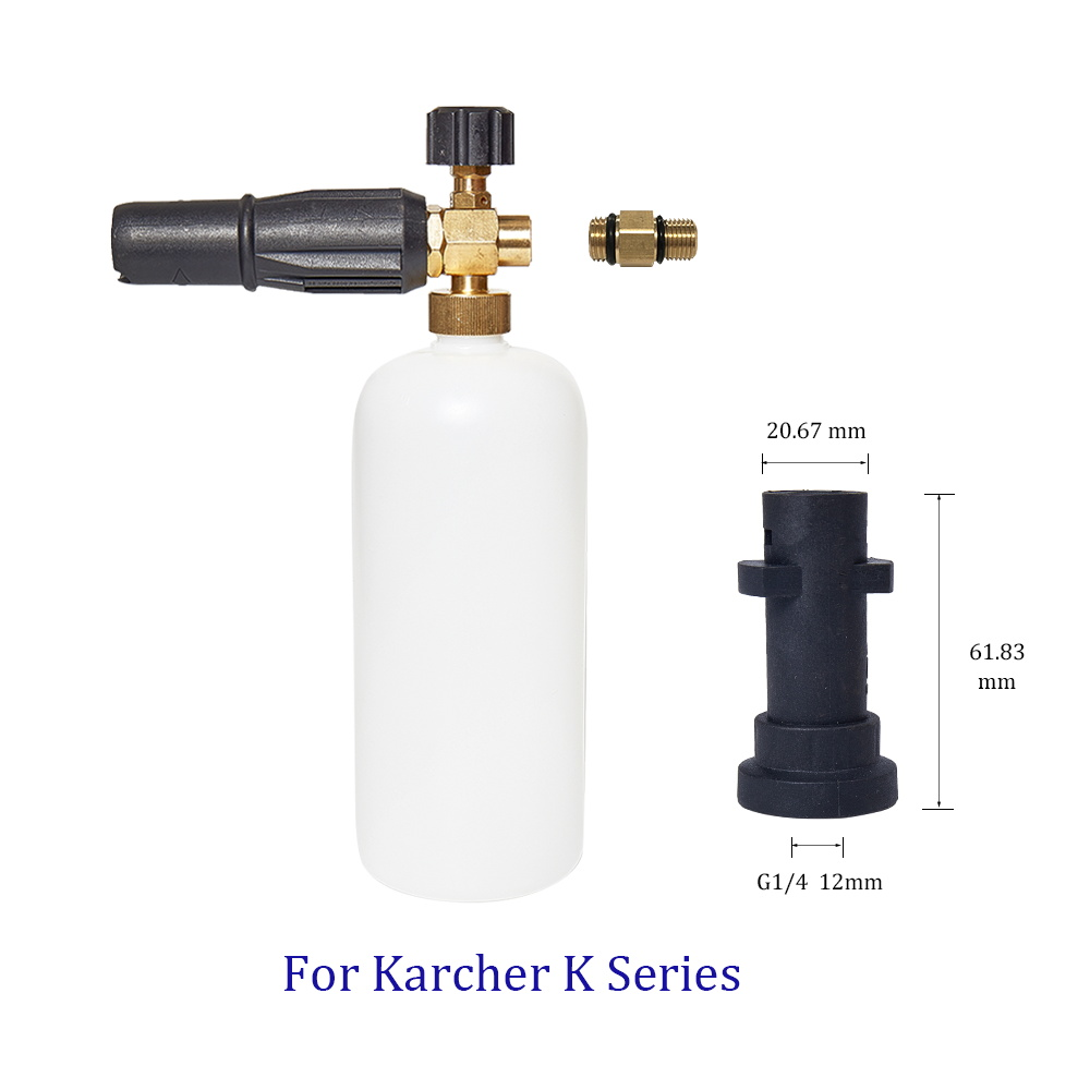 Car Washer Snow Foam Gun Foam Cannon for Karcher K2   K7 K Series 1L Soap High Pressure Snow Foam Lance-in Water Gun & Snow Foam Lance from Automobiles & Motorcycles