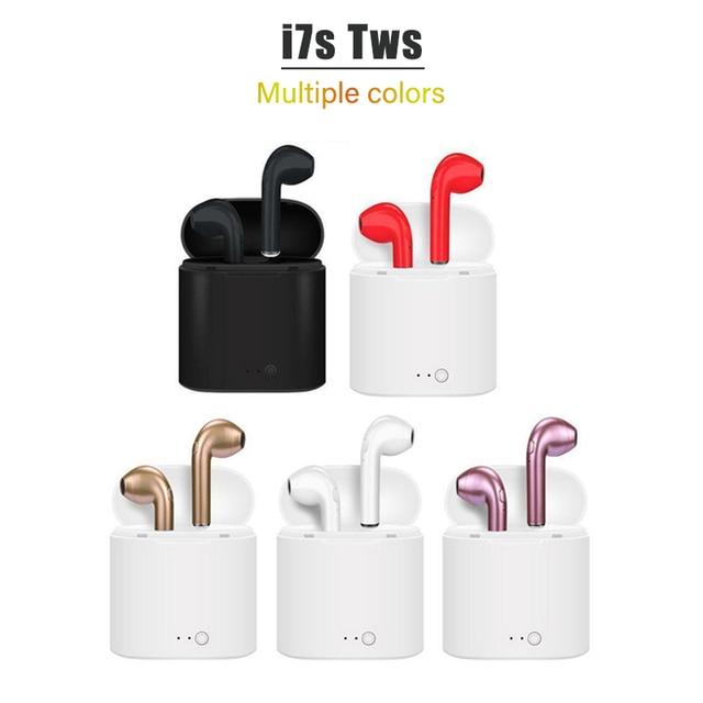 TWS i7s Bluetooth earphones music Headphones business headset sports earbuds suitable wireless Earpieces For smart phone