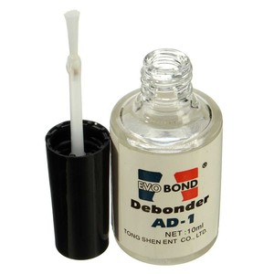 Image 2 - 10ml/bottle False Eyelash Glue Remover Adhesive UV Glue Dispergator Makeup Remove Tools Remove Extension Lashes Gentle on Skin