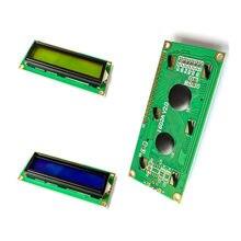 Бесплатная доставка 10 шт. 1602 16x2 символьный ЖК-дисплей модуль HD44780 контроллер синий/зеленый экран черный свет ЖК 1602 ЖК-монитор 1