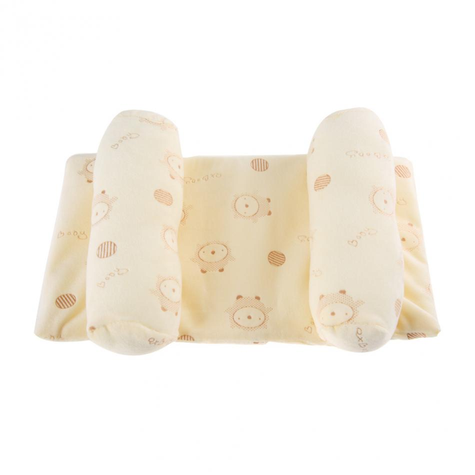 Baby Infant Sleep Positioner Support Pillow Prevent Flat Head Cotton Anti Roll Cushion Newborn Pillow Baby Bedding Hot Sale