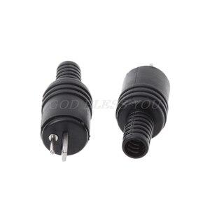 10 шт., 2-контактный разъем DIN для динамиков, 2-контактный разъем, Hi-Fi, громкий кабель динамика, припой, разъем провода, новинка, Прямая поставка