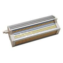 Диммер R7S 189 мм 60W светодиодный Светодиодная лампа-кукуруза AC100-130V AC200-240V SMD2835 с горизонтальным разъемом лампы для Replace1000W солнечные трубки Бес...