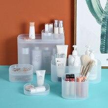plastic makeup organizer women…