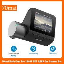 70mai 대쉬 캠 프로 1944P GPS ADAS 자동차 카메라 Dvr 70mai 자동차 대시 Vehicl 카메라 와이파이 DVR 음성 제어 24H 주차 모니터
