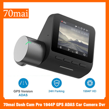 70mai Dash Cam Pro 1944P GPS ADAS Car Camera Dvr 70mai Car Dash Vehicl Camera WiFi DVR Voice Control 24H Parking Monitor