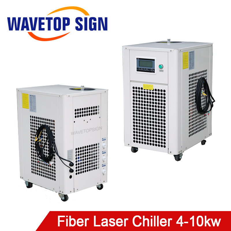 WaveTopSign 4000-10000w Fiber Laser Chiller Suiable For Fiber Laser Cooling Capacity 2.7KW - 70KW