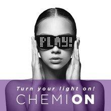 Смарт-очки Bluetooth светодиодный динамический светящийся светильник солнцезащитные очки для ночной рождественской вечеринки мигающие очки