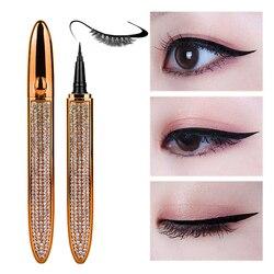 Magic Lashes Self-adhesive Liquid Eyeliner Pen Glue-free Magnetic-free Makeup Eyelashes Tools Waterproof Eye Liner Pencil
