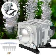 45L/min 25W 220V Electromagnetic Air Compressor Pump Oxygen Aquarium Fish Pond Compressor Hydroponic Air Aerator Pump ACO-208