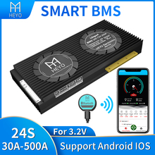 Équilibreur intelligent bms lifepo4 24s, 72V, bluetooth, 30a, 40a, 100a, 200a, 500a, batterie au lithium, charge et décharge, 3.2V