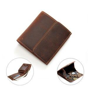 Genuine Leather Men Wallets wi
