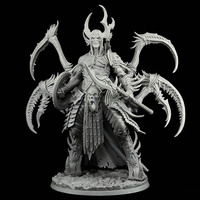 190mm ancient fantasy man warrior (WITH BIG BASE ) Resin figure Model kits Miniature gk Unassembly Unpainted