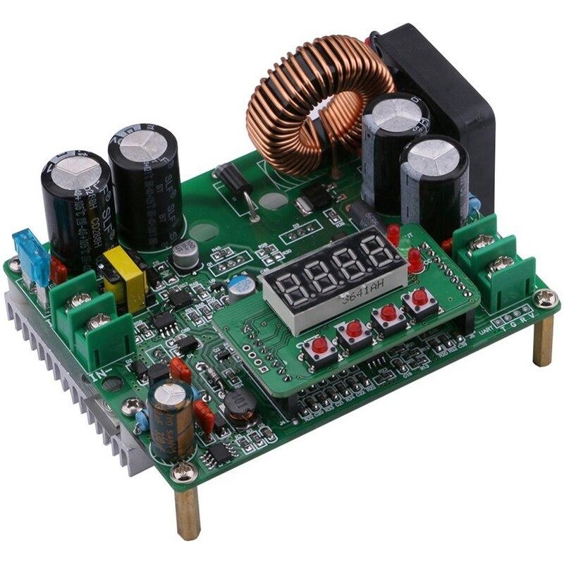 Power Supply Module CC CV DC 10V-75V To 0-60V 12A 720W Buck Converter Adjustable Voltage Regulator CNC Control Module