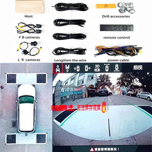 Car-Camera Image Bird Panoramic-View AHD Ce HD3D S-Eye-View-System Customization-Parking