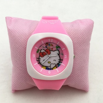 montre hello kitty en plastique