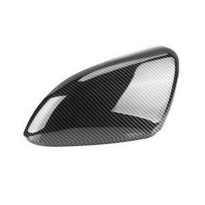 Image 5 - 2 Cái Cho VW Golf MK6 R20 Touran Golf GTI 6 Golf 6 R Cánh Tráng Gương Mũ Lưỡi Trai (Carbon tác Dụng) xe Volkswagen Tráng Gương Mũ Lưỡi Trai