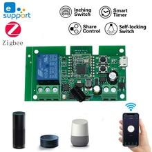 DC7 32V Ewelink ZigBee Relay Module Remote Control Light Switch Work With Alexa Google Home Sonoff/Tuya Smart Hub Gateway Bridge